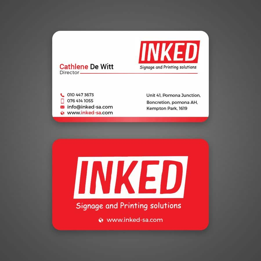 Konkurrenceindlæg #221 for business card