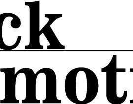 #6 for Logo design for Black Promotions af chessexpert