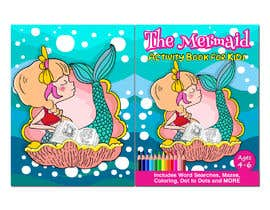 pgaak2 tarafından Mermaid Activity Book Cover (Ages 4-6) için no 25