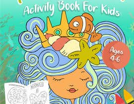 #43 for Mermaid Activity Book Cover (Ages 4-6) by rebeccaanzueto