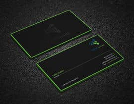 #201 для I need someone that can design the front and back of a very modern and sleek business card for a full stack developer looking to land the job of his dreams. The business card must be very stylish and impressive at first sight. от Uttamkumar01