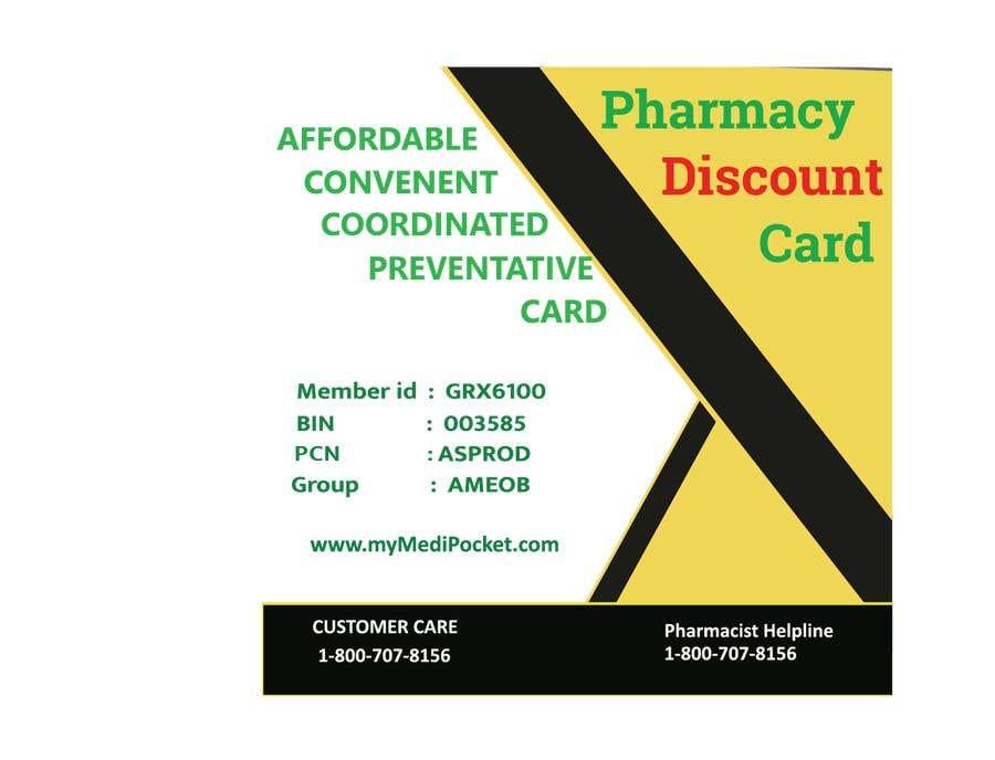 """Inscrição nº 12 do Concurso para Square Pharmacy Discount Card 3""""x3"""""""