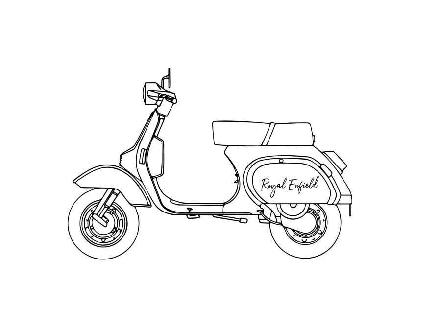 Konkurrenceindlæg #14 for Design (draw, model or computer genterate) a motor scooter for me.
