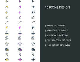 #10 untuk Create 10 icons with same concepts but different design oleh yakshitpatel09