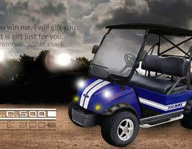 nº 16 pour Photoshop headlights into golf cart par sabbir47