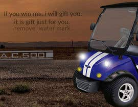 nº 17 pour Photoshop headlights into golf cart par sabbir47