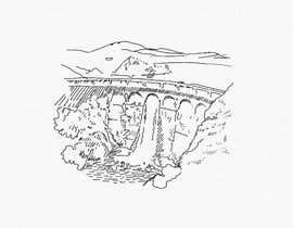 Nro 6 kilpailuun Minimalist Re-Creation of a Dam. Tattoo Drawing käyttäjältä NatalieNikkol