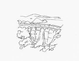 Nro 7 kilpailuun Minimalist Re-Creation of a Dam. Tattoo Drawing käyttäjältä NatalieNikkol