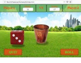 Nro 12 kilpailuun Dynamic dice game käyttäjältä webdevloper3