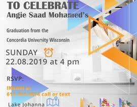#26 untuk Graduation invitation card oleh Agusjayadi21