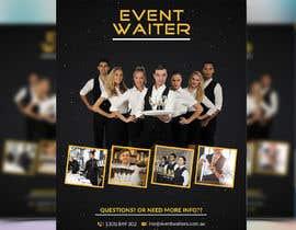 #28 cho Design Flyers for My Waiter/Bartender Hire Business bởi mdabunayem1999