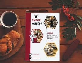 #30 cho Design Flyers for My Waiter/Bartender Hire Business bởi Sumayasultana