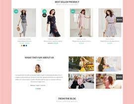 Nro 6 kilpailuun Build two websites that related with Women fashion industry käyttäjältä hosnearasharif