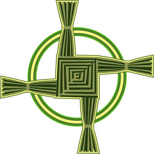 Penyertaan Peraduan #11 untuk Design me an Image Cartoon Style - Irish St Bridgets Cross