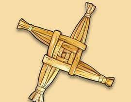 LizaShtefan tarafından Design me an Image Cartoon Style - Irish St Bridgets Cross için no 15