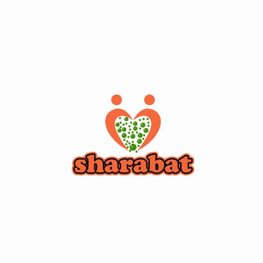 Kilpailutyö #97 kilpailussa Logo for a refreshing drink - sharabat