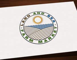 #225 for Land & Sea Farm Market Logo by kalart