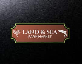 #108 for Land & Sea Farm Market Logo by joydey1198
