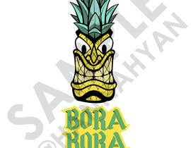 #17 pentru Redraw this form of novelty in a beautiful and professional manner with the addition of (Bora Bora juice below the logo) de către Hannahyan