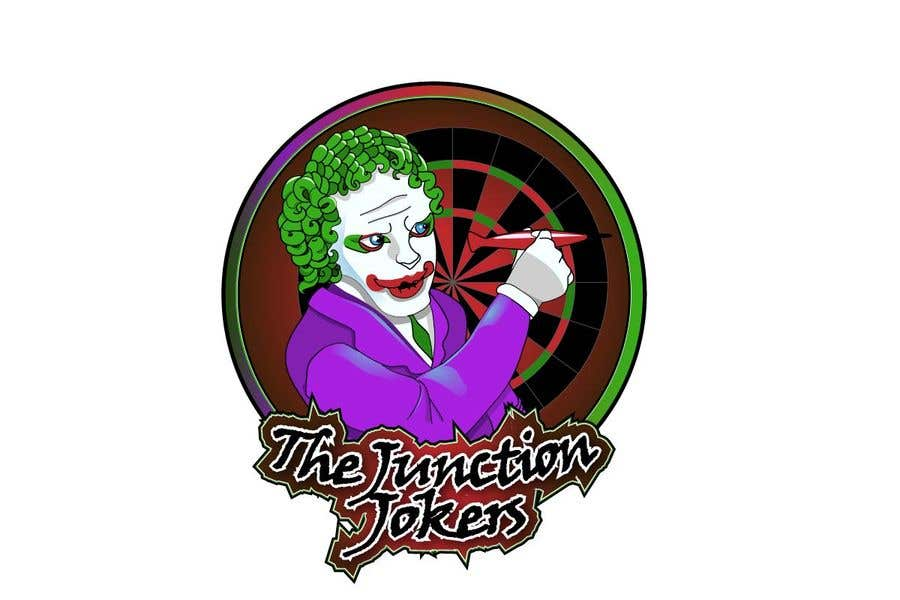 Proposition n°14 du concours Illustrate a Joker Logo with dartboard