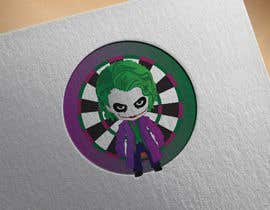 #6 for Illustrate a Joker Logo with dartboard by Mubasshirin