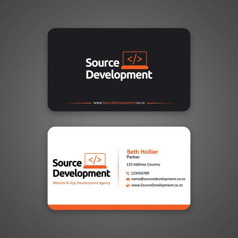 Inscrição nº 95 do Concurso para Re-Design a Business Card for a Website & App Development Company