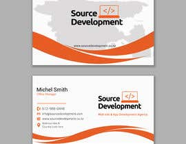 #362 cho Re-Design a Business Card for a Website & App Development Company bởi saifulislam5344