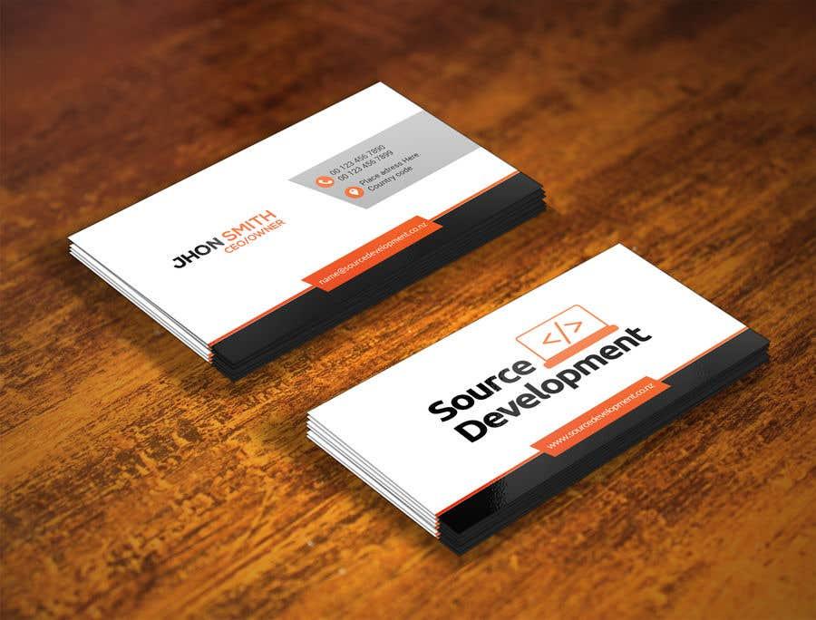 Kilpailutyö #226 kilpailussa Re-Design a Business Card for a Website & App Development Company