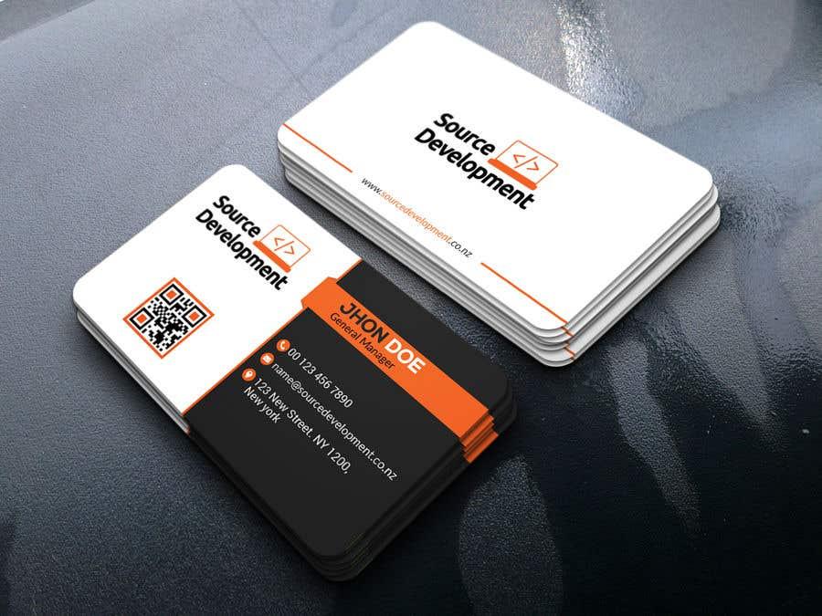 Inscrição nº 249 do Concurso para Re-Design a Business Card for a Website & App Development Company