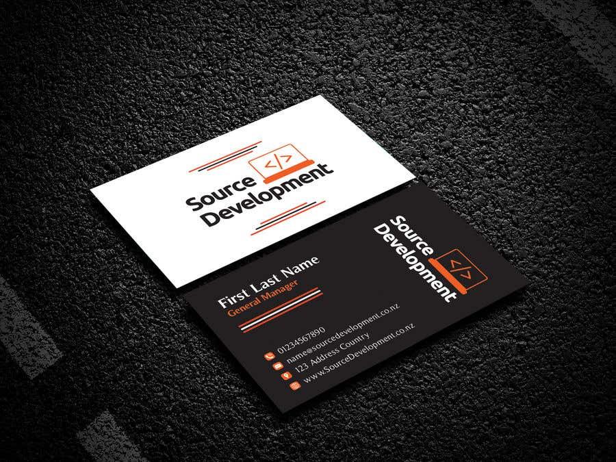Inscrição nº 128 do Concurso para Re-Design a Business Card for a Website & App Development Company