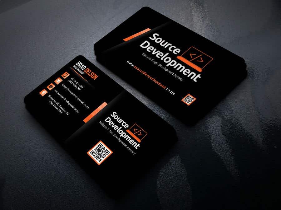 Inscrição nº 367 do Concurso para Re-Design a Business Card for a Website & App Development Company