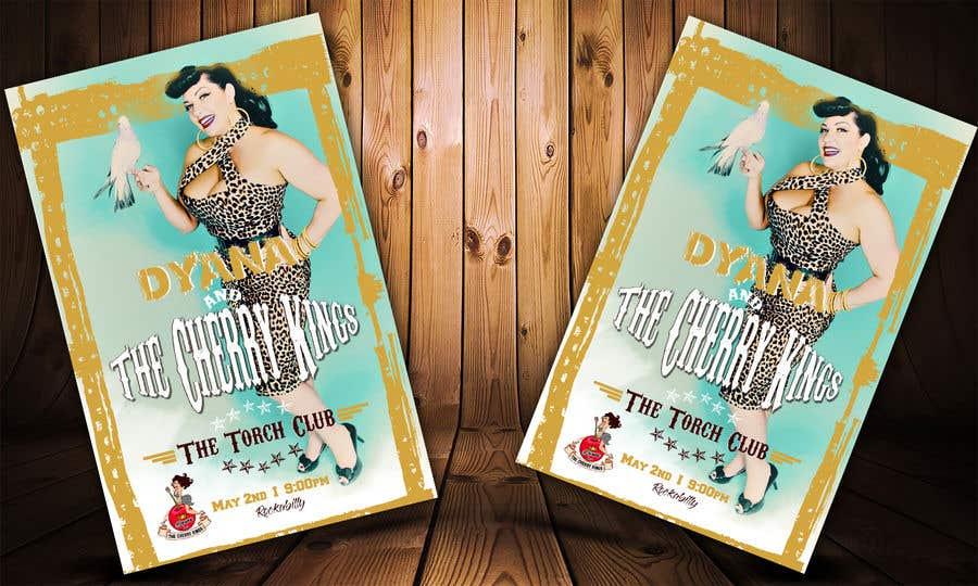 Kilpailutyö #5 kilpailussa Band Poster 11 x 17 Needed - RUSH