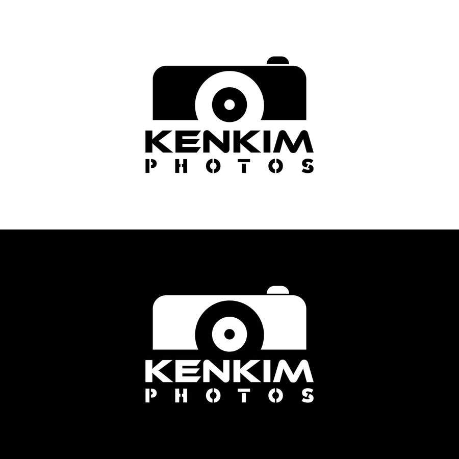 "Contest Entry #108 for I need a logo for my photography page. The logo will be written as ""KenKimPhotos"", not really looking for a particular design but something that will catch my eyes. It's simple best catchy design wins, if it's reallllly great, I'll increase the budget - 2"