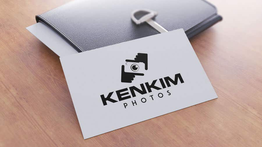 """Contest Entry #135 for I need a logo for my photography page. The logo will be written as """"KenKimPhotos"""", not really looking for a particular design but something that will catch my eyes. It's simple best catchy design wins, if it's reallllly great, I'll increase the budget - 2"""