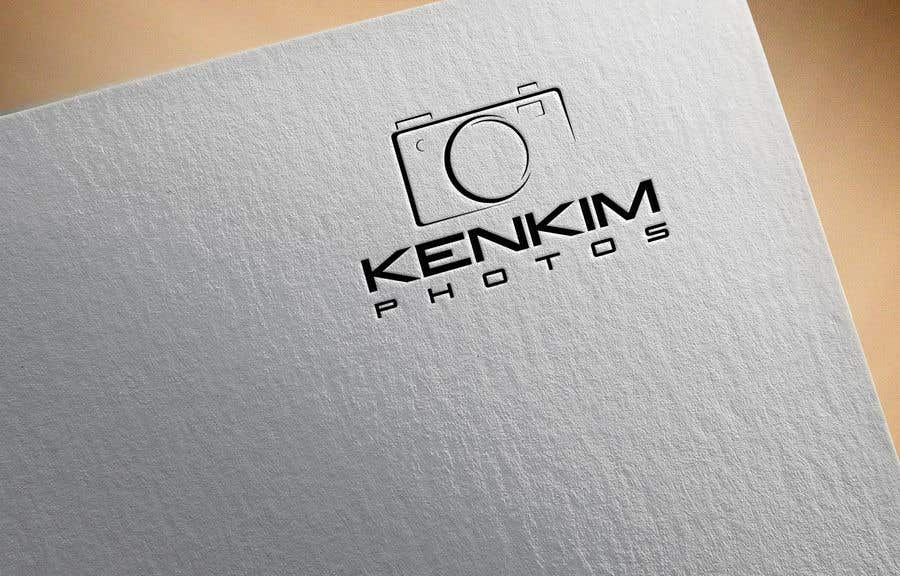 """Contest Entry #146 for I need a logo for my photography page. The logo will be written as """"KenKimPhotos"""", not really looking for a particular design but something that will catch my eyes. It's simple best catchy design wins, if it's reallllly great, I'll increase the budget - 2"""