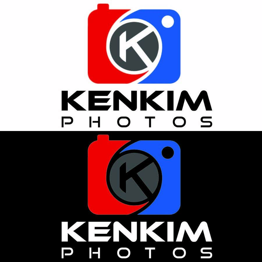 """Contest Entry #128 for I need a logo for my photography page. The logo will be written as """"KenKimPhotos"""", not really looking for a particular design but something that will catch my eyes. It's simple best catchy design wins, if it's reallllly great, I'll increase the budget - 2"""