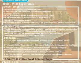 nº 4 pour Designing a agenda program par Designzone143