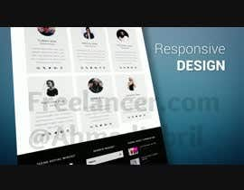 #3 untuk Create web design company promotional video 30 second long oleh AhmadJebril