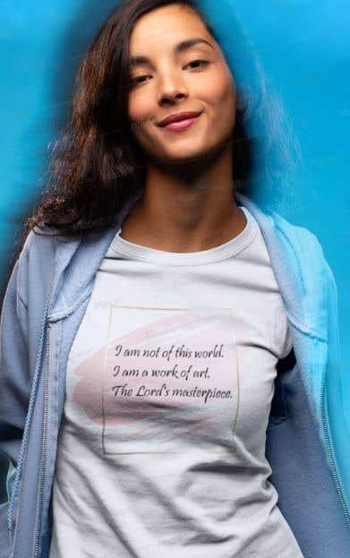 Penyertaan Peraduan #10 untuk create an awesome t shirt design for my merch