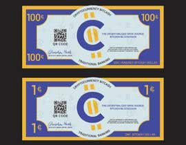 #28 для Make a design for the paper money bills for a cryptocurrency (BitCash Dollar) от cjsevilleja
