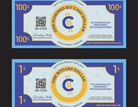 #30 для Make a design for the paper money bills for a cryptocurrency (BitCash Dollar) от cjsevilleja