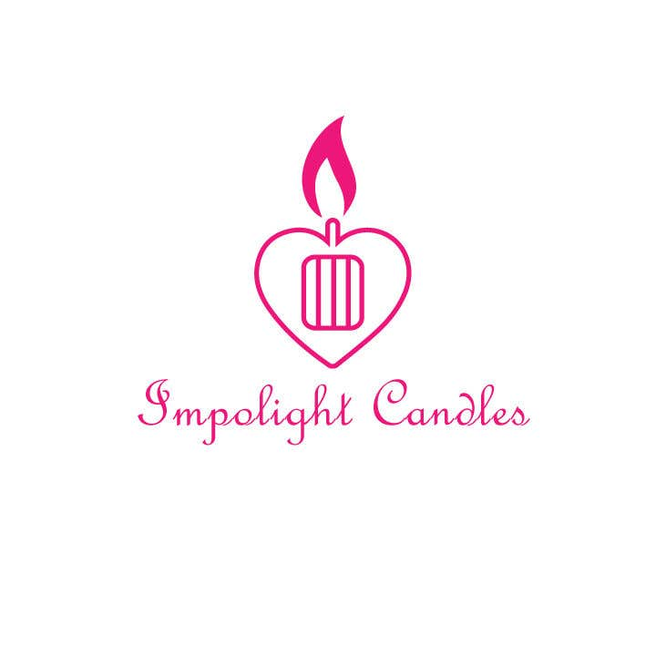 Contest Entry #25 for Impolight Candles Logo