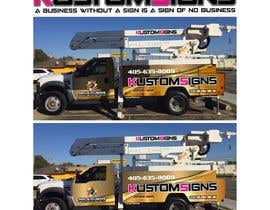 nº 1 pour Bucket Truck Wrap, Kustom Signs par monstersox
