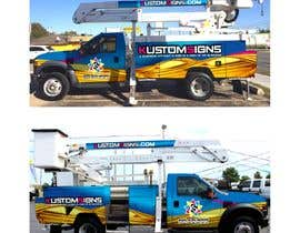 nº 16 pour Bucket Truck Wrap, Kustom Signs par monstersox