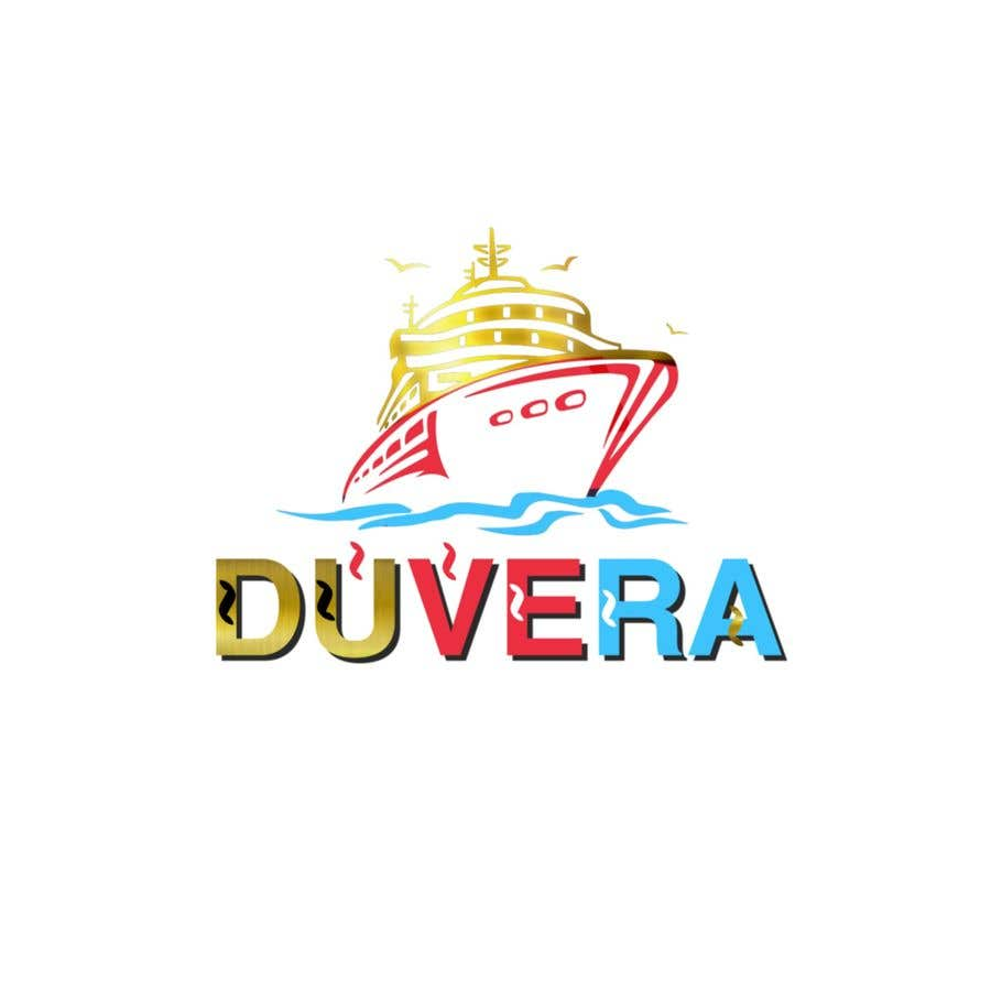 Contest Entry #26 for Company name is Duvera. I need a contemporary and minimalist logo designed. We are looking to use a white, gold, and red color scheme.