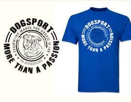 #45 для Design for a T-Shirt around Dogsports от dulhanindi