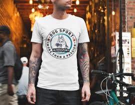 #41 для Design for a T-Shirt around Dogsports от abdulsattar1998