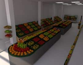 #26 for Design a 3D Fruit Grocery and Cold Room Storage plus a 2D Floor plan by Harosha33