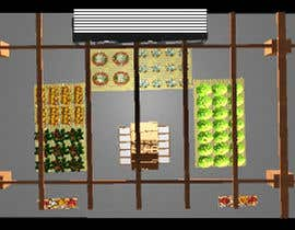 #25 for Design a 3D Fruit Grocery and Cold Room Storage plus a 2D Floor plan by TheresaSuen