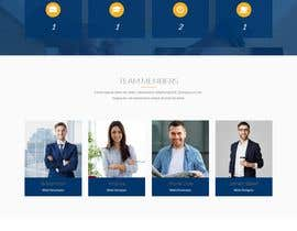 #13 para Sleek and Eye-Catching Landing Page for Hedge Fund por mdbelal44241